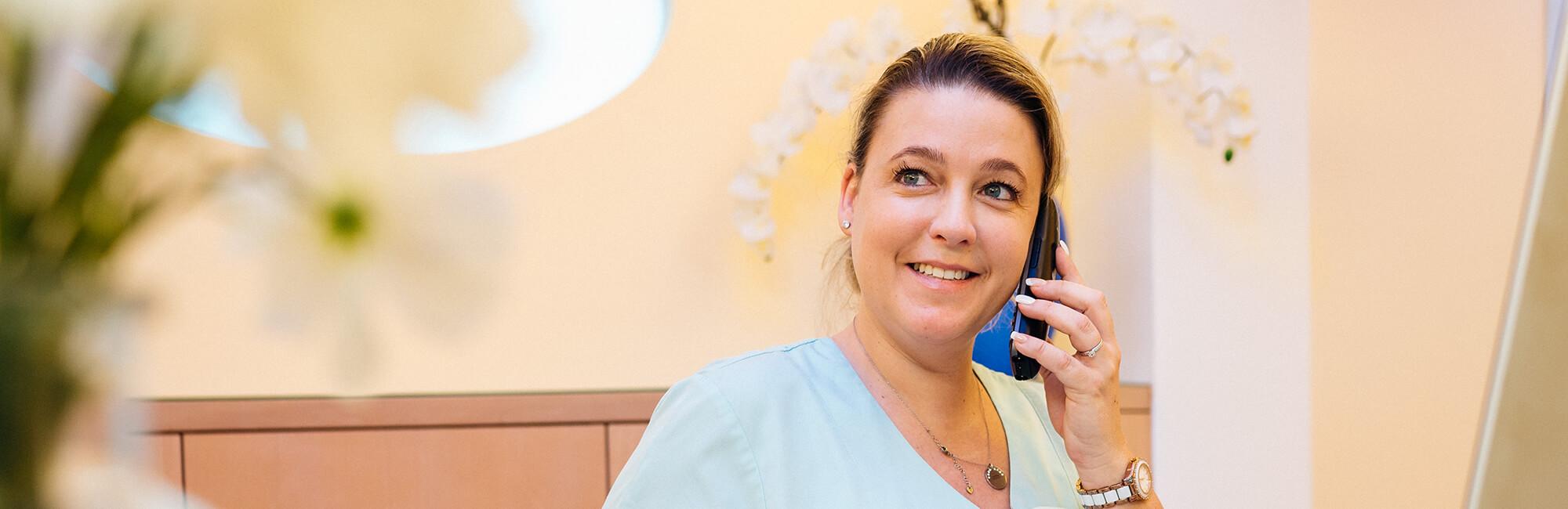 Zahnarzt Trudering - Dr. Gruber - Kontakt